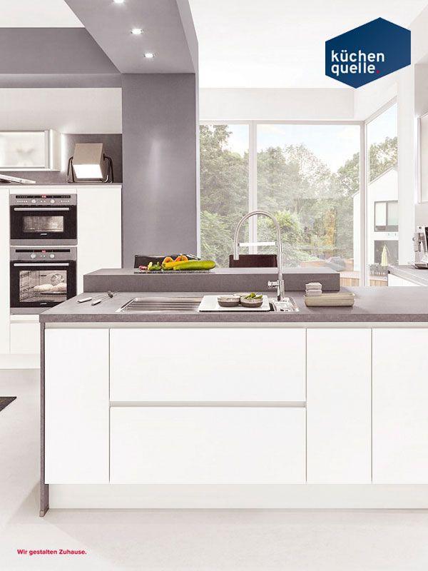 73 best Weiße Küchen images on Pinterest | Kitchen white, Homes and ...