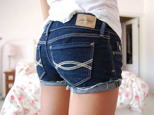 abercrombie shorts. * have these, and I love them more than anything <3*
