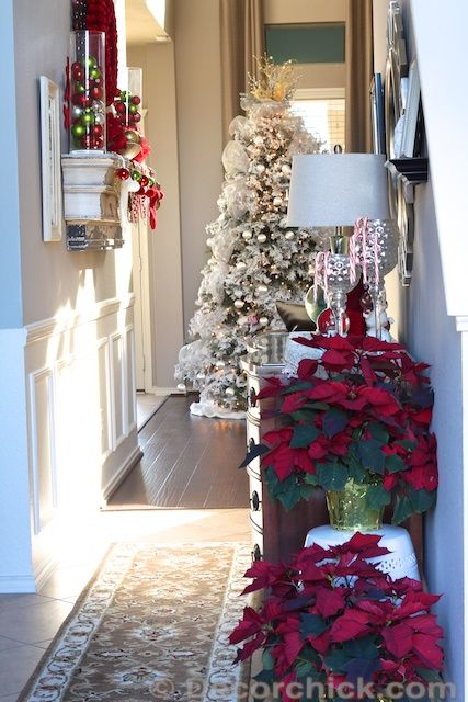 Christmas Decorations for every room of the house. #christmasdecorations #christmas