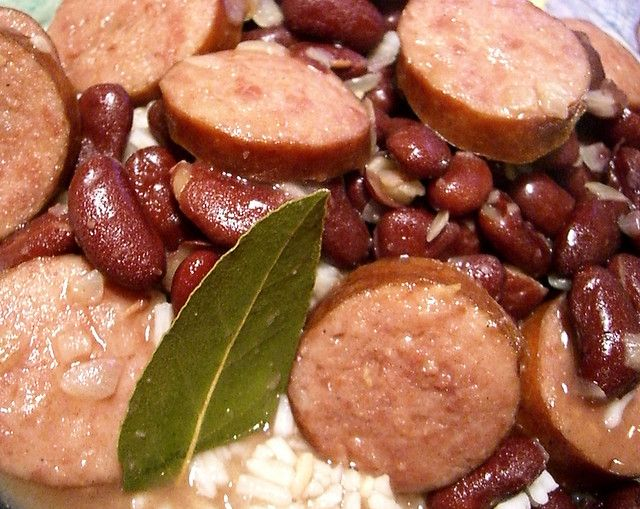 New Orleans Red Beans and Rice with Andouille Sausage recipe ...