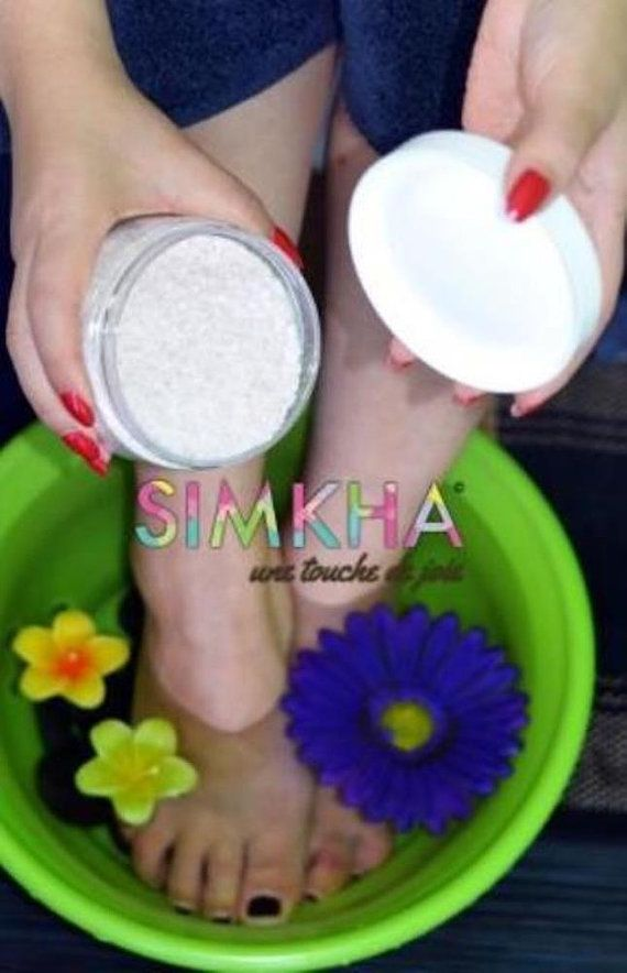 FOOT SOAK with Baking soda-DEAD Sea by SIMKHAbeautyproduct on Etsy