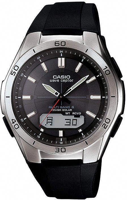 2bff5868abe Casio Wave Ceptor Atomic Mens Digital Analog Watch WVAM640-1A ...