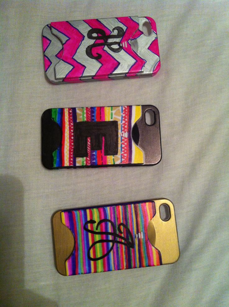 sharpie phone cases diy things i 39 ve made pinterest