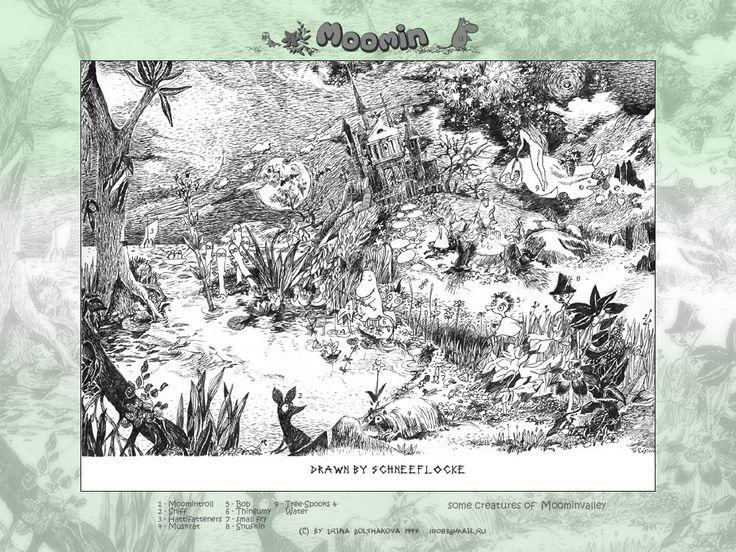 moomin original illustrations - Google 검색