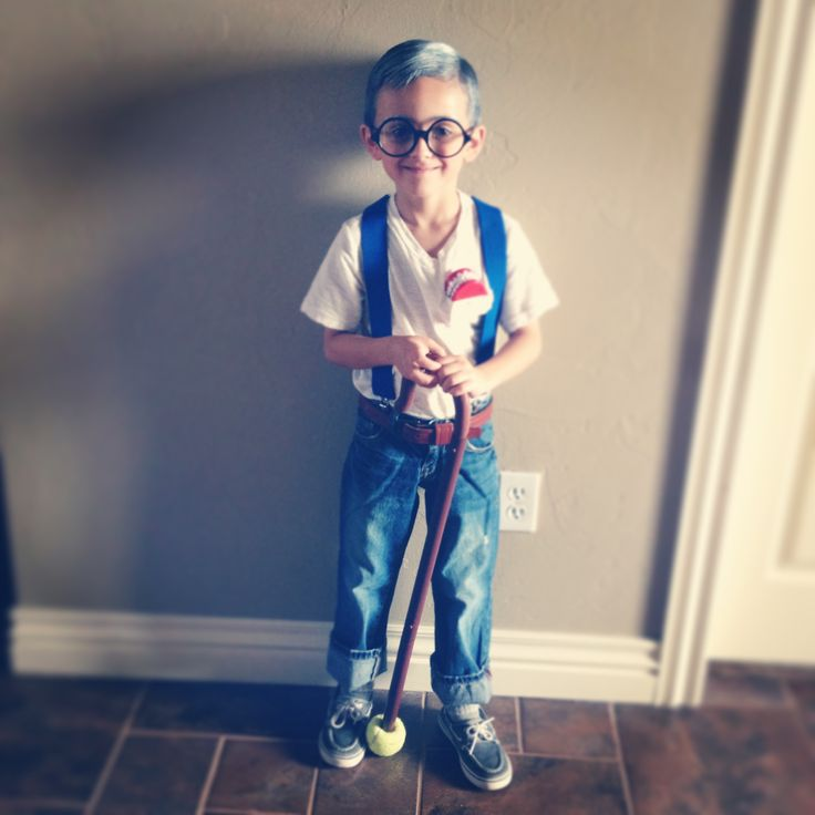 Old Man costume for 100 years old day at school :-)