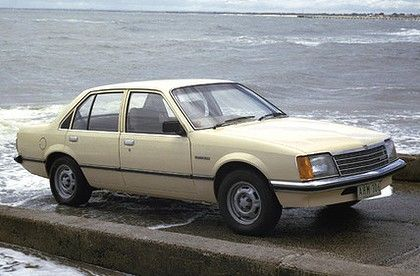 Where it all began: Holden Commodore VB