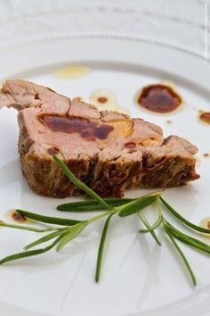 Schweinefilet mit Rosmarin. Vintage~Cottage~Garden~Party - marieola - food and lifestyle blog