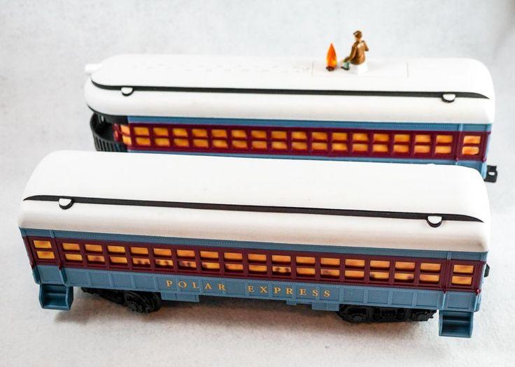 Lionel Polar Express Train G Scale Passenger Car and Observation  #Lionel