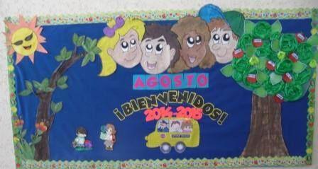 Peri dico mural de bienvenida al nuevo ciclo escolar 2014 for Diario el mural de jalisco