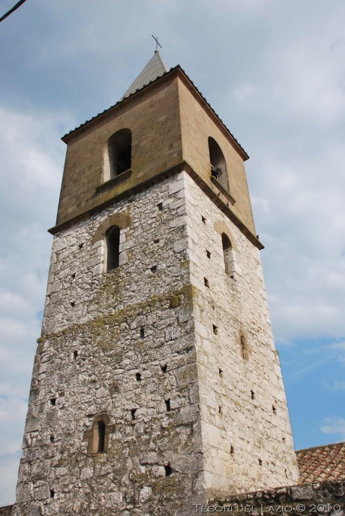 San Vittore del Lazio (Frosinone), #Lazio - Chiesa di San Nicola - Photo M. Pesci (06 2010) - © All rights reserved - Tesori del Lazio