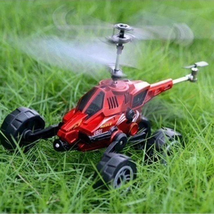 RC Drone RC Helicopter Quadcopter 3.5CH Multi-purpose Remote Control Driving on land Flying Car U821 //Price: $54.18 & FREE Shipping //     #Cheapprice
