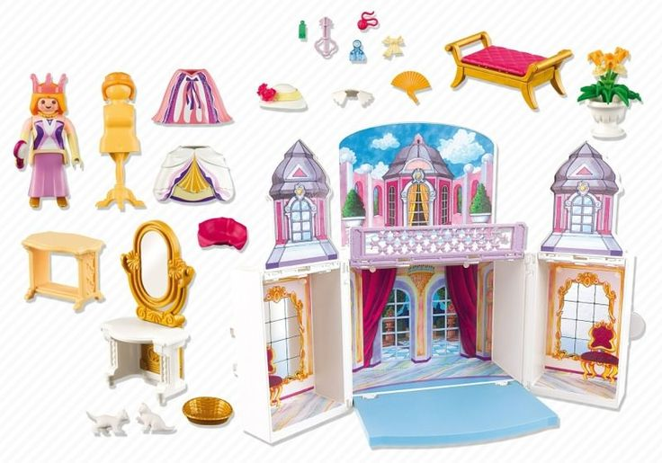 Playmobil 5419 - Take-along Princess Castle - Back