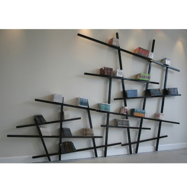 17 best ideas about wall mounted bookshelves on pinterest for Unique shelves diy