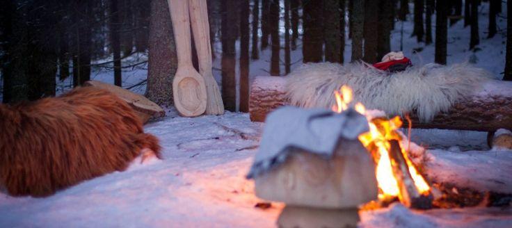 Eventyrskogen på Stubberud gård i Åsmarka
