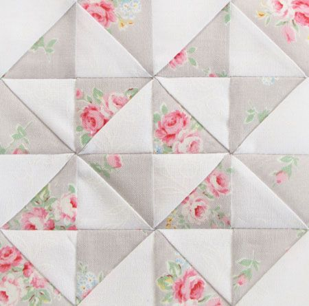 Farmer's Wife Quilt Along Week 22 - Pretty by Hand - Pretty By Hand; remember this fabric line...it's beautiful