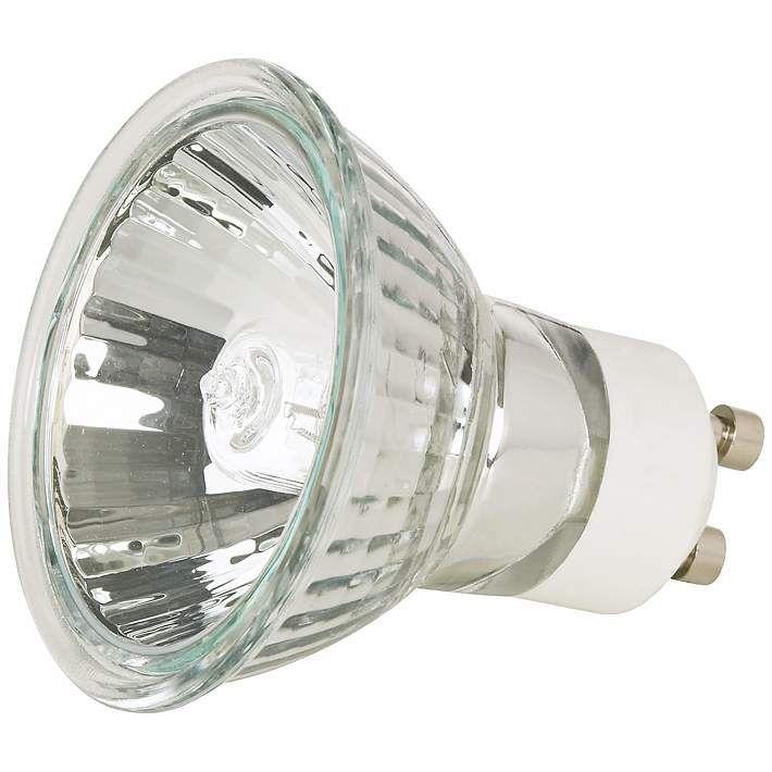 50 Watt Gu10 Mr16 Halogen Light Bulb 81824 Lamps Plus