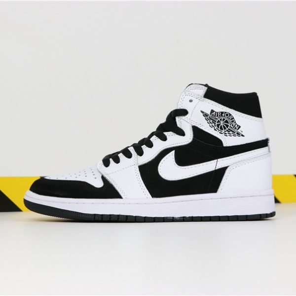 Air Jordan 1 Mid Black White Shoes Best Price 554724-113 in ...