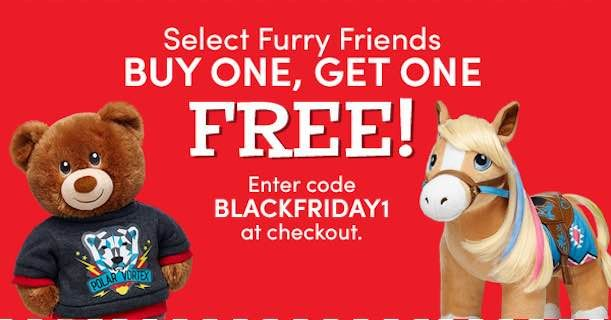 Awesome! Score BOGO Furry Friends At Build-A-Bear! Only $4.50 Each!