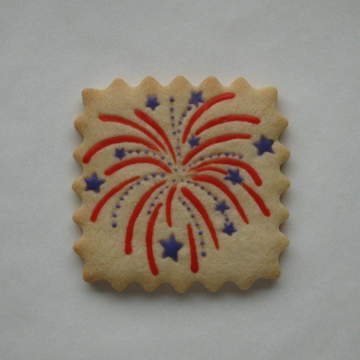 cookies firework cookies july cookies fireworks sugar fireworks ...