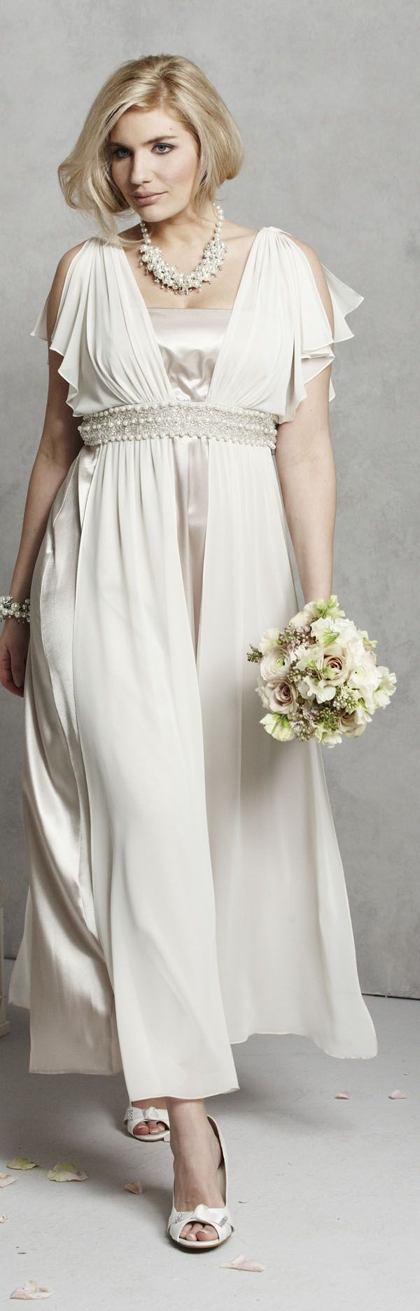 1000 ideas about hippie wedding dresses on pinterest for Alternative plus size wedding dresses