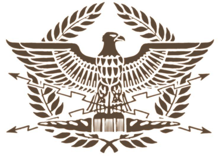 Spqr eagle tattoo