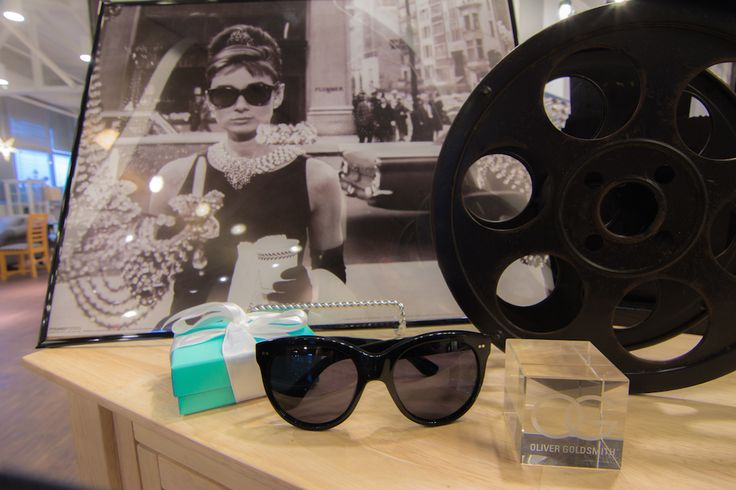 Claire & Oliver Goldsmith Eyewear, The Famous Eyewear worn by Audrey Hepburn in Breakfast at Tiffany's