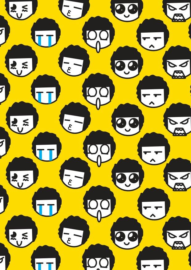 Wall paper emoji #DopeIllustration