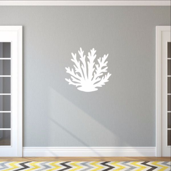 Sea Coral Style A Vinyl Wall Decal 22570  #coral #seacoral #ocean #nautical #beach #decor #walls #wall #decals #decal #vinyl #walldecals #walldecal