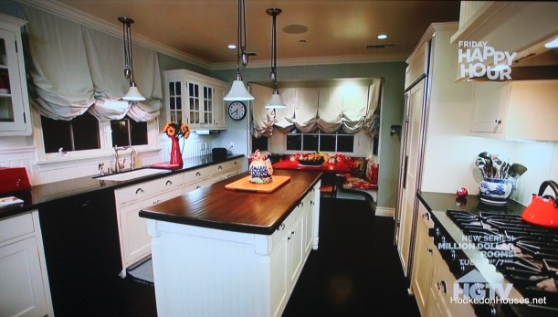 Deidre Hall's kitchen. So many similarities to my current kitchen remodel! Just found this picture.