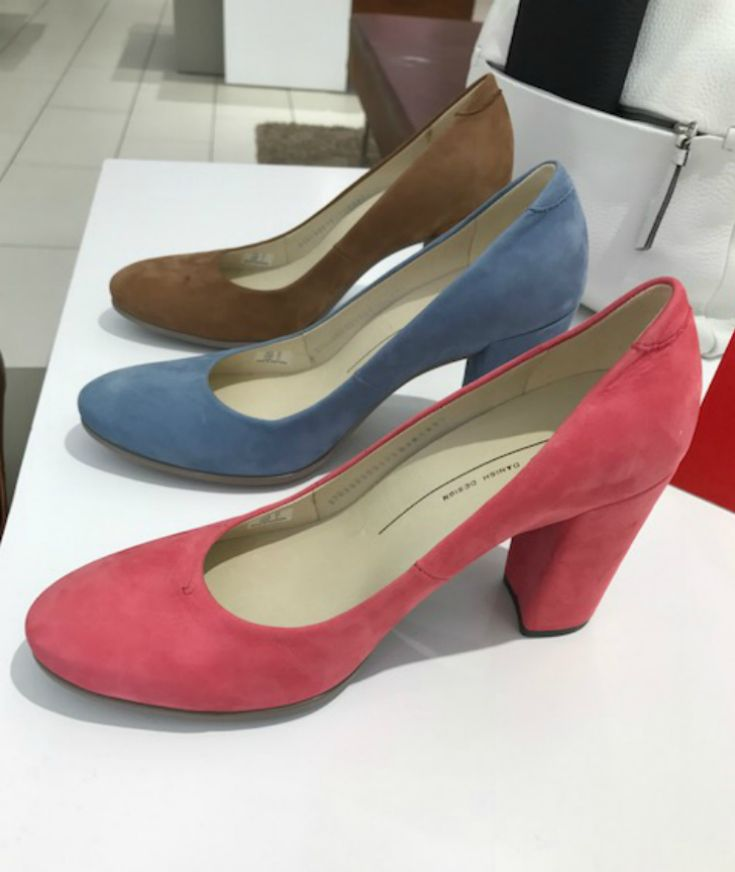 Bold and Beautiful in Comfortable Block Heels