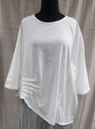 Browsing Store - Jane Mohr Tuck T - I'd like it in royal blue.
