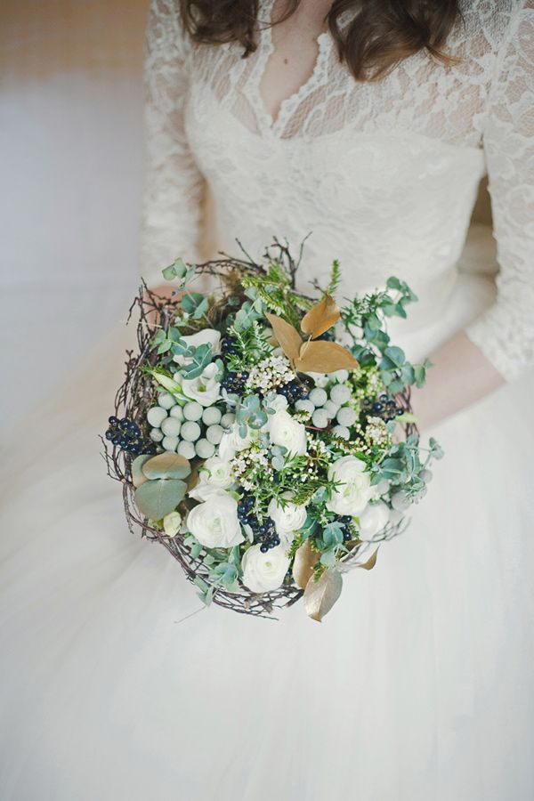 Bouquet Flowers Lace