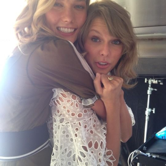 Taylor and Karlie! Okay, just wanting to set the record straight...I do not ship them and I do not think that they are together, but their friendship is adorable and I love them both!