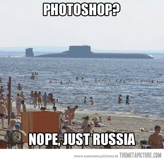 Russian Typhoon Class nuclear-powered submarine: Armament- Intercontinental ballistic missiles: Displacement-48,000 tons: Length-574 ft.
