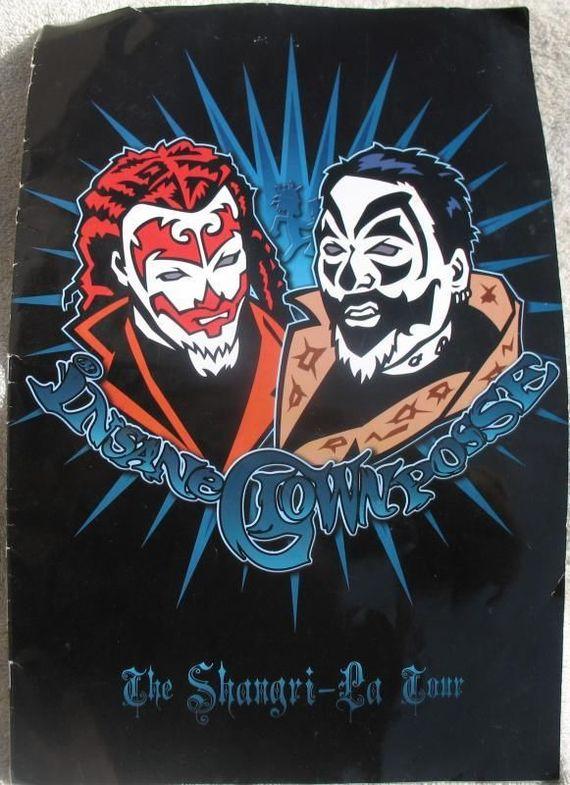 ICP Insane Clown Posse The Shangri-La Tour Program Twiztid AB...