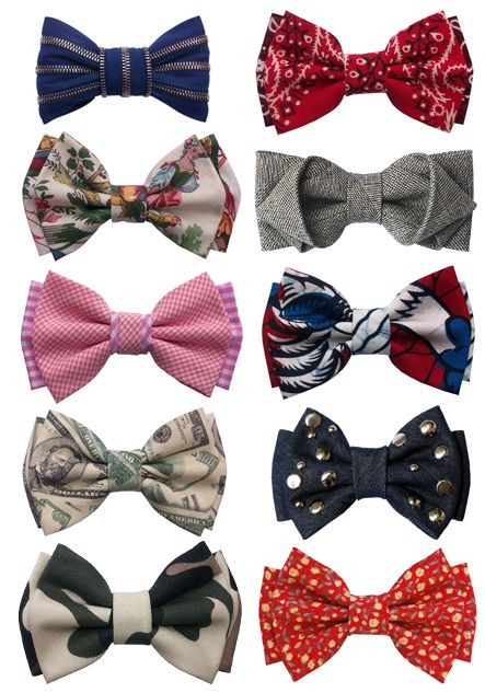Some great little ideas here | #bow #ties