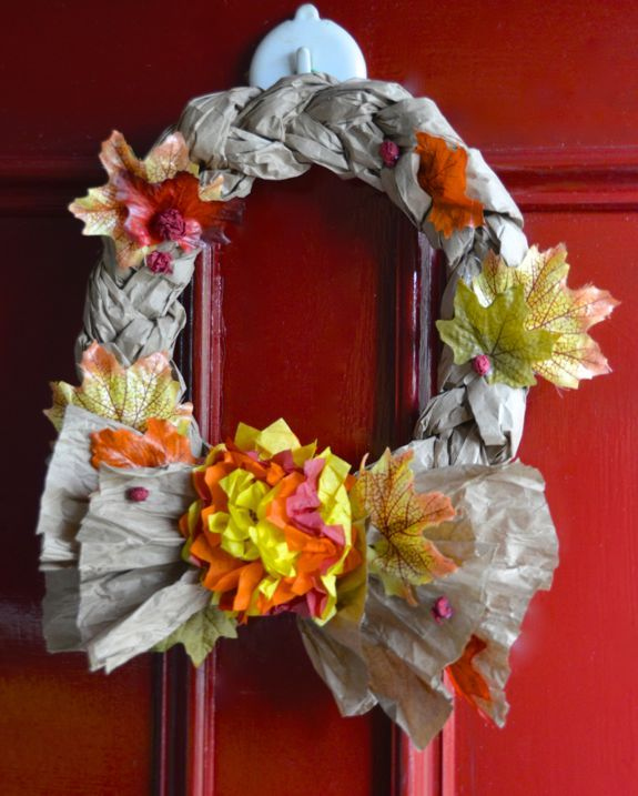 17 best images about wreaths just wreaths on pinterest for Easy recycling projects