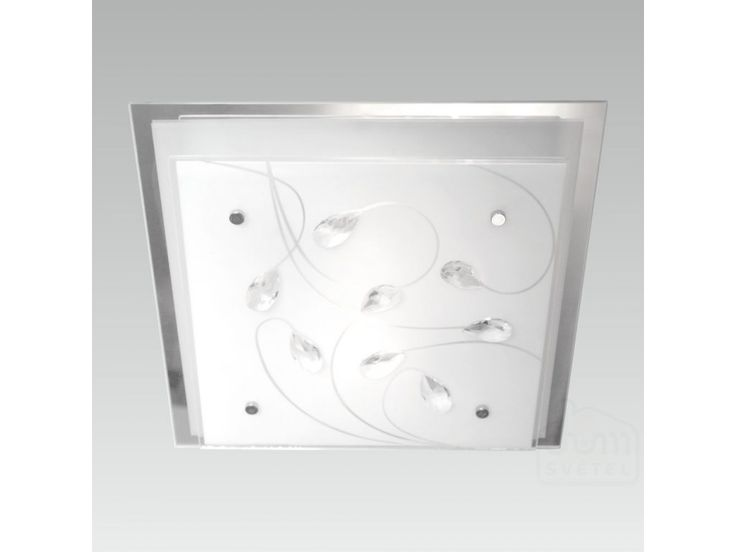 stropní svítidlo Prezent Ikaros 65107; 3*E27/60W; Krytí: IP20; zrcadlo/bílá