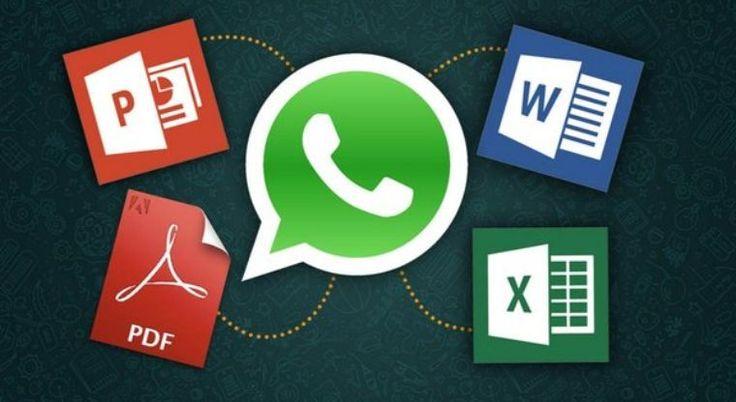 WhatsApp agora permite envios de documentos Office