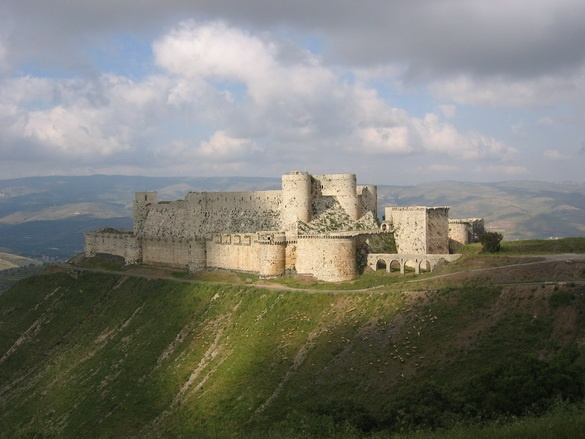 Krak Des Chevaliers in Syria an old outpost