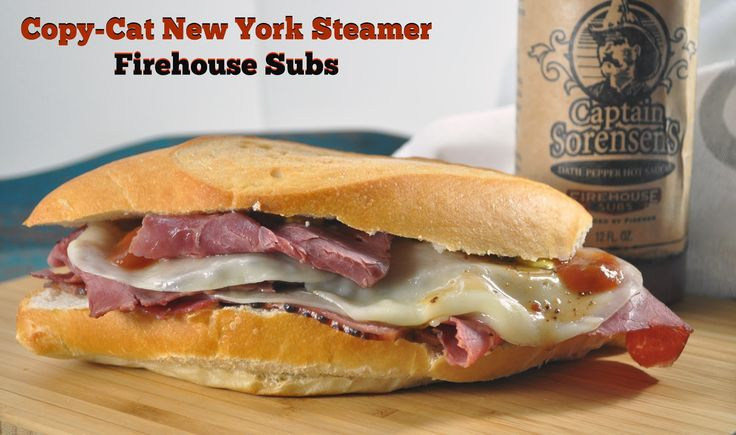 The Food Hussy!: Recipe: Copy-Cat Firehouse Subs New York Steamer