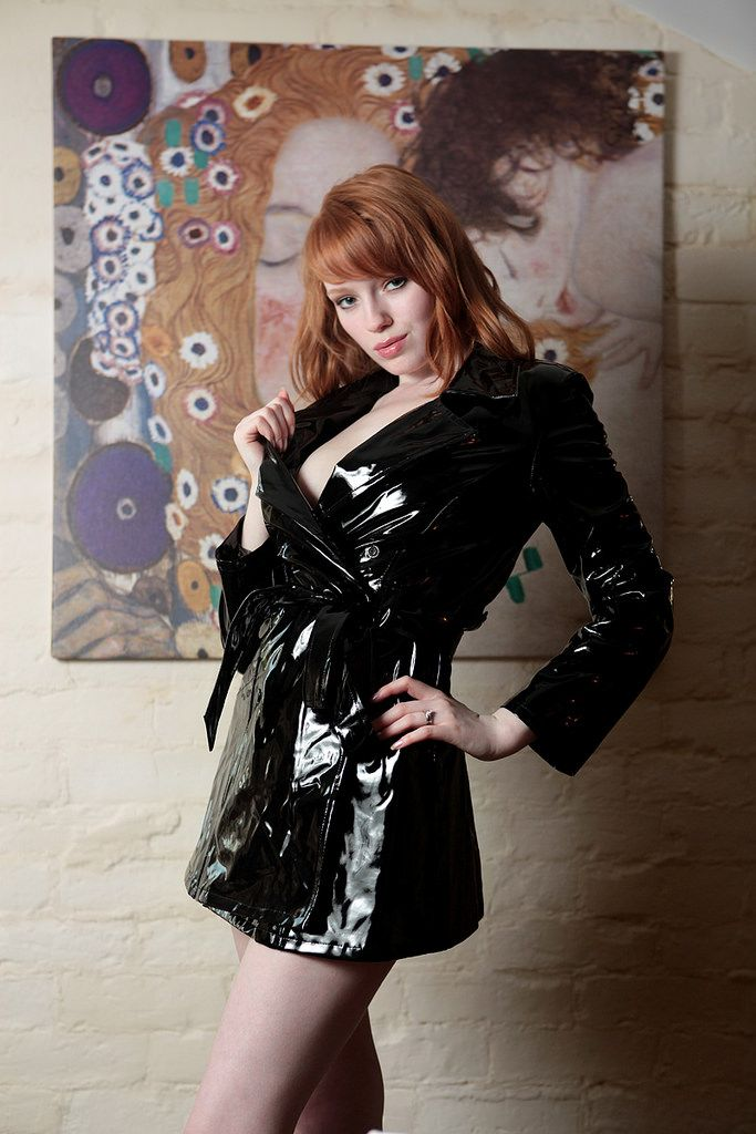Kloe Kane  the Worlds sexiest redhead  PVC Heaven