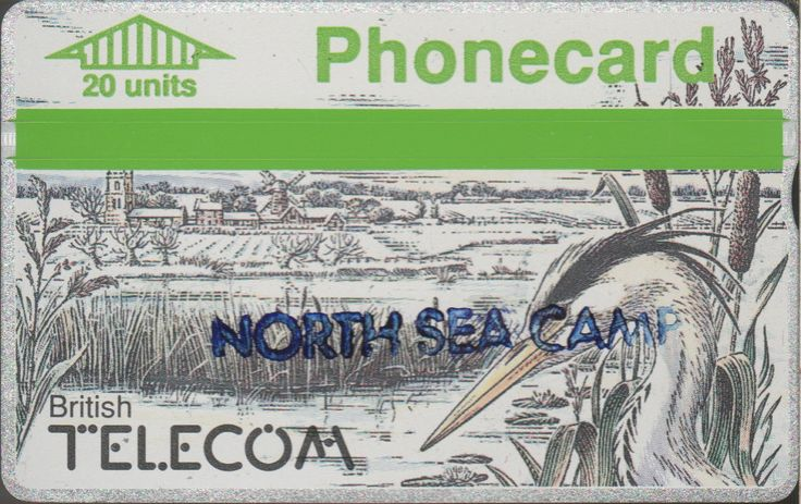 CUP000C2 908D(I) North Sea Camp used