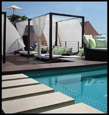 resultado de imagen para terraza con jacuzzi privado
