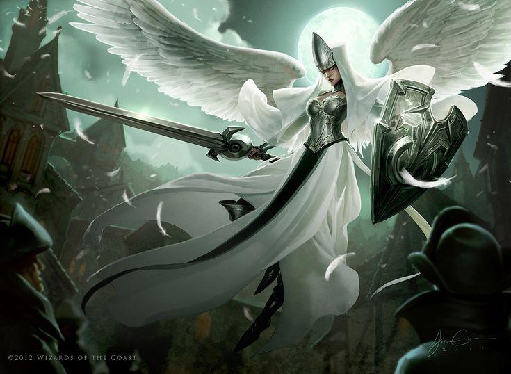 MTG - Angelic Overseer Illus. Jason Chan