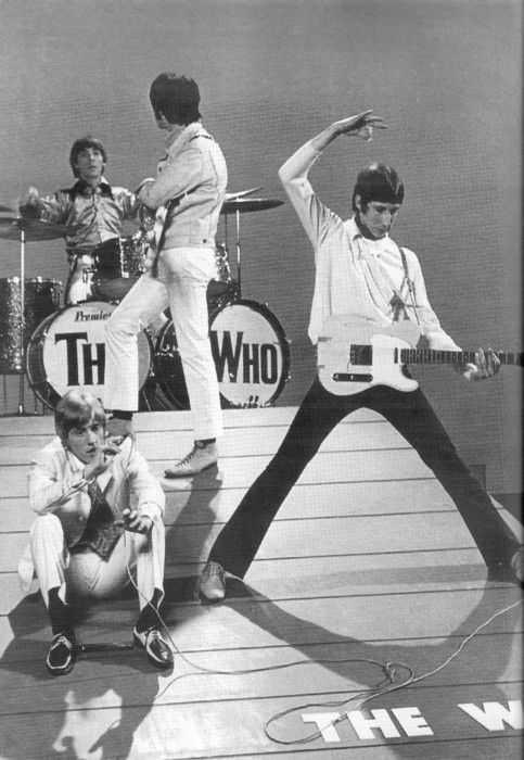 """The Who, recorded """"Who Are You"""", the original CSI theme song written by Pete Townsend."""