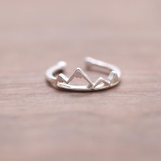 Mountain Ring | Simple & Dainty - QTCutie