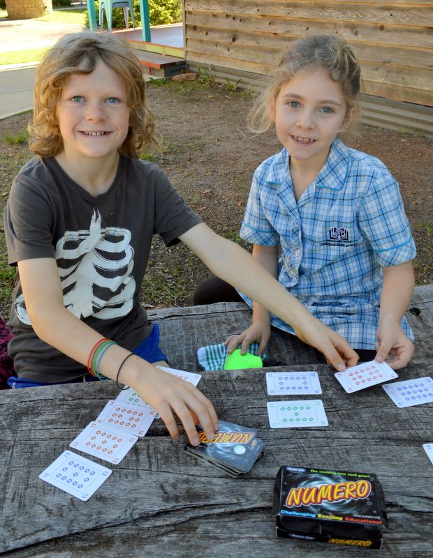 As part of the MRIS Better Buddies programme, Year 5/6 students taught Year 1 students how to play Numero, a maths card game for all ages which challenges mathematical understanding and improves mental recall.