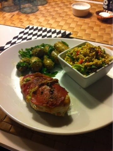 Charlottes Madblog: Kylling med Parma skinke og lækkert tilbehør