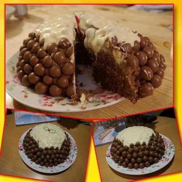 """Шоколадный торт """"Черный Бархат"""""""
